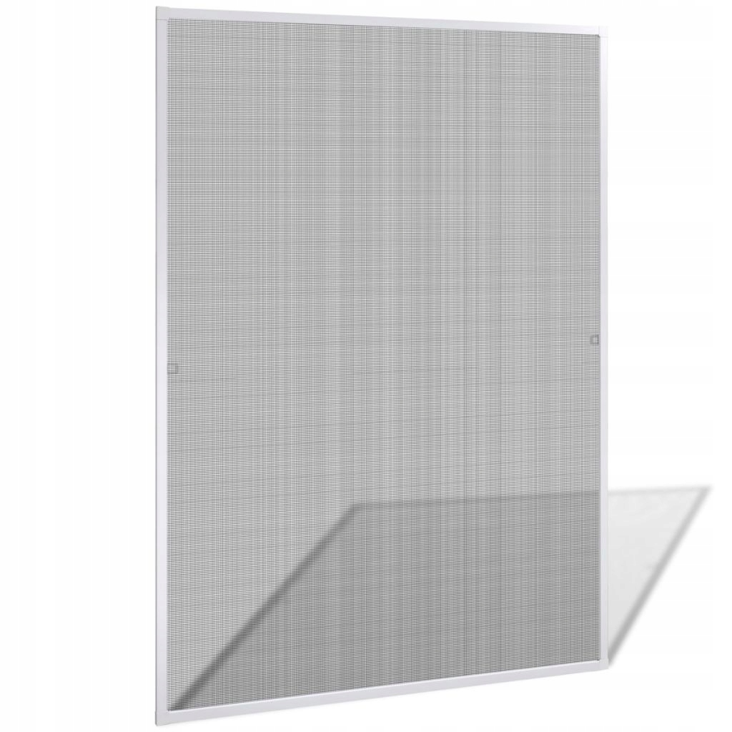 Biała moskitiera przeciw insektom 130 x 150 cm