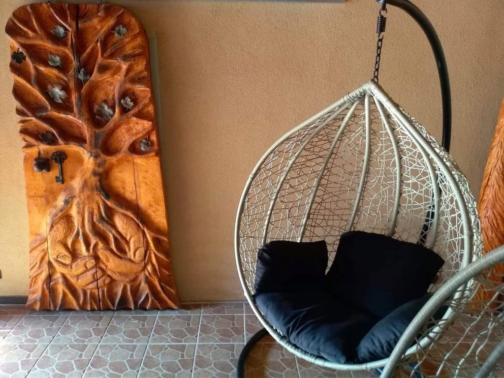leroy merlin wiszący fotel santra cruz