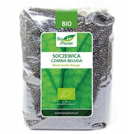 BIO Planet Beluga Soczewica czarna 1 kg EKO
