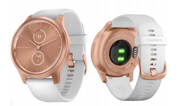 Garmin VIVOMOVE STYLE złoty biały Smartwatch