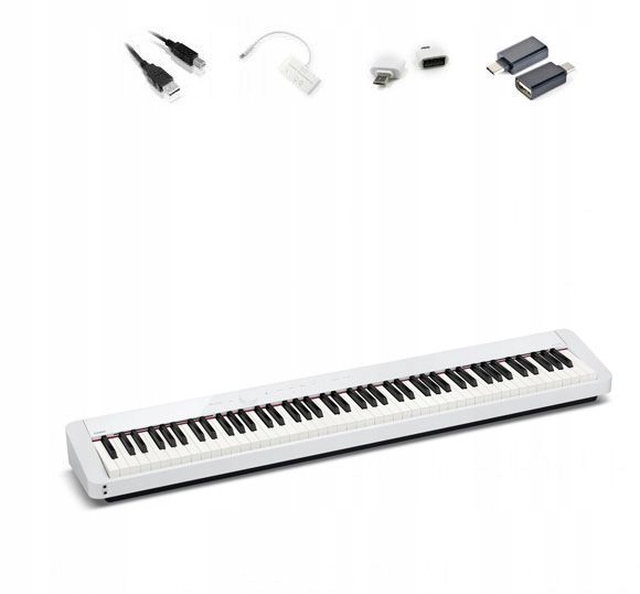 CASIO PX-S1000 WE pianino +adaptery do iOS Android