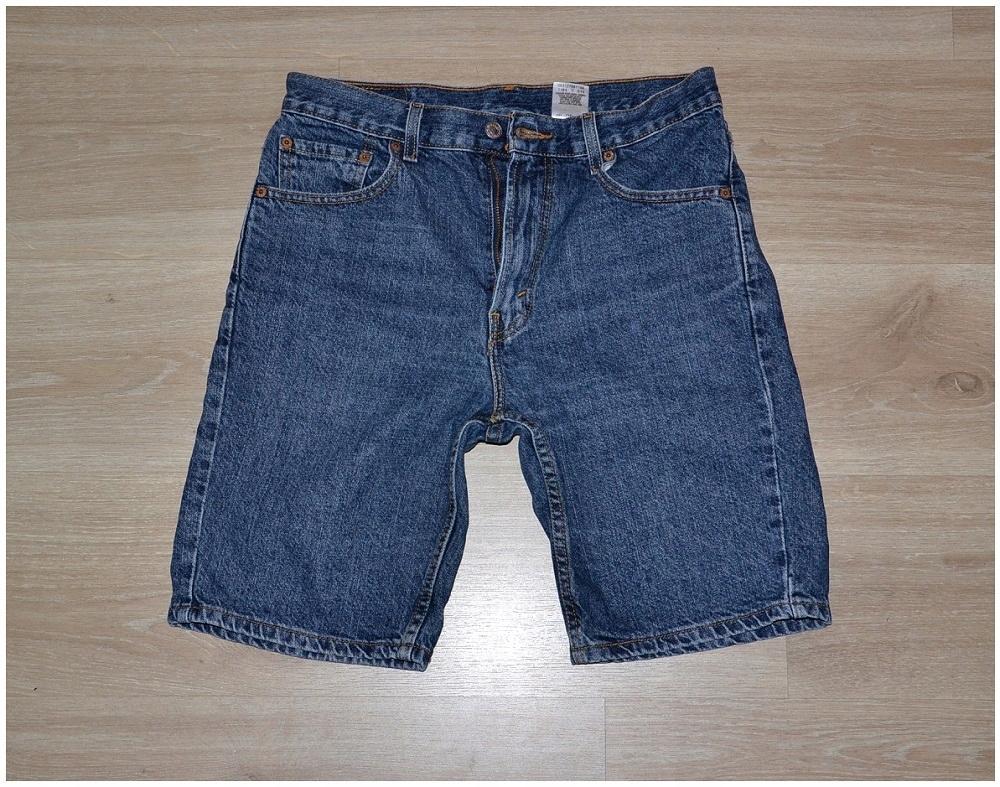 Levis 505 jeans spodnie meskie W28/30 Pas-77 cm