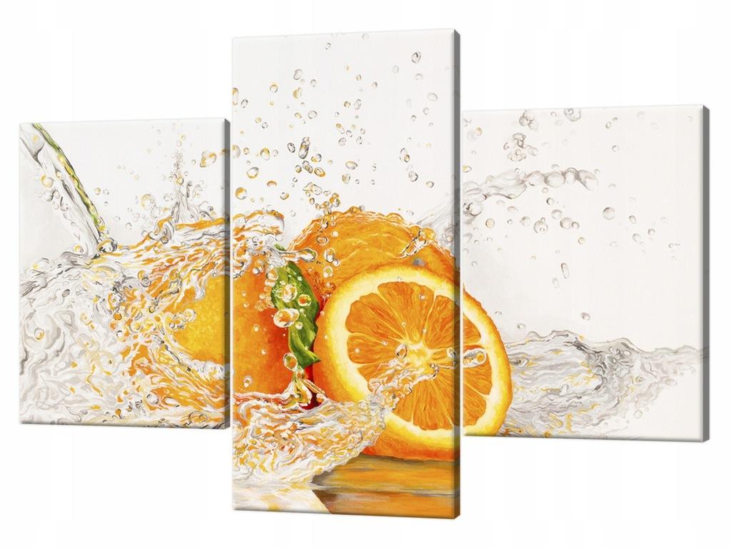 Obraz ścienny 90x60cm Pomarańcza w wodzie