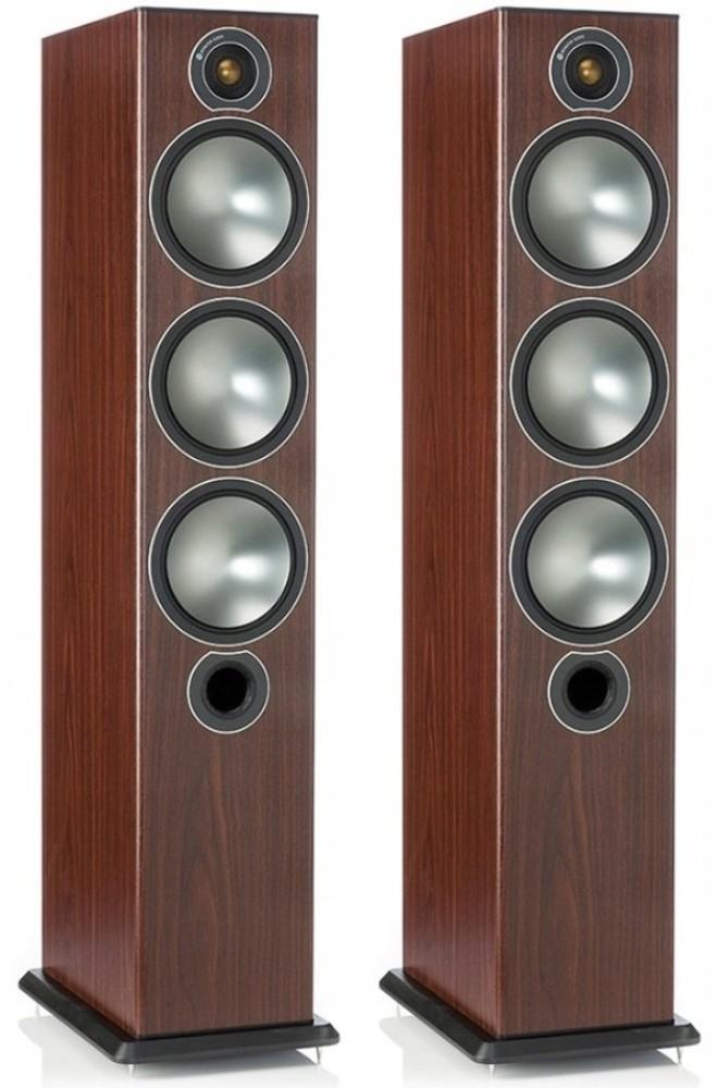 Monitor Audio Bronze 6 kolumny podłogowe Różane