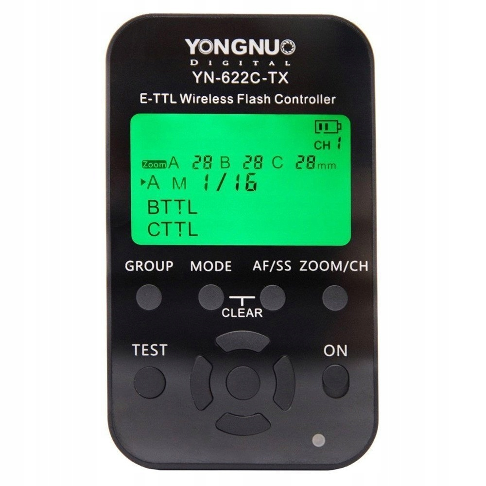 Wyzwalacz Yongnuo YN622C-Kit YN-622C-TX + YN-622C