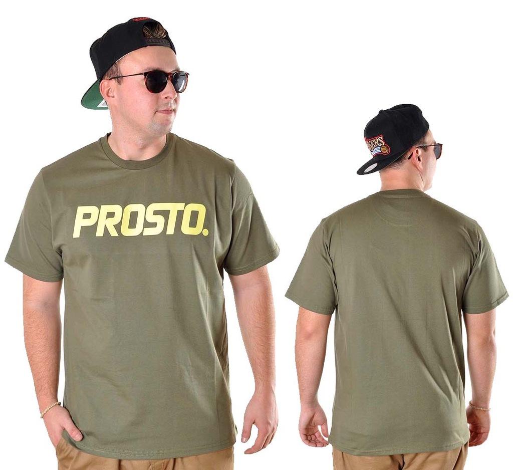 Koszulka XL PROSTO KLASYK CLASSIC t-shirt khaki