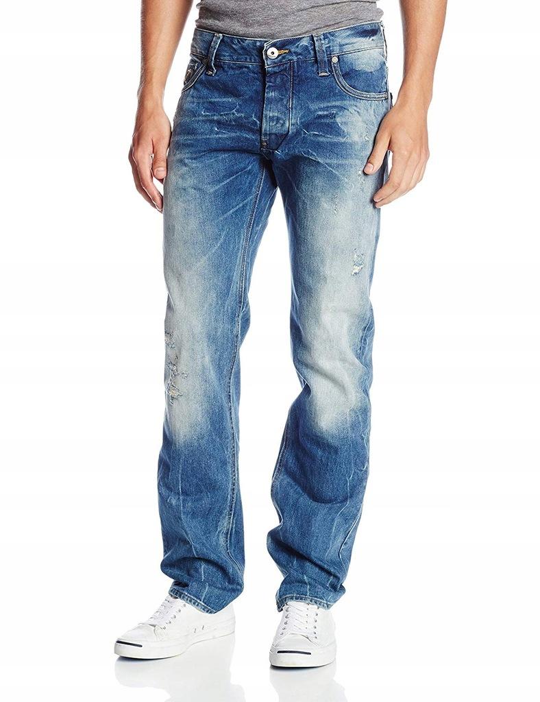 Spodnie G-Star Attacc Low Jeansy W29 L34 K1601