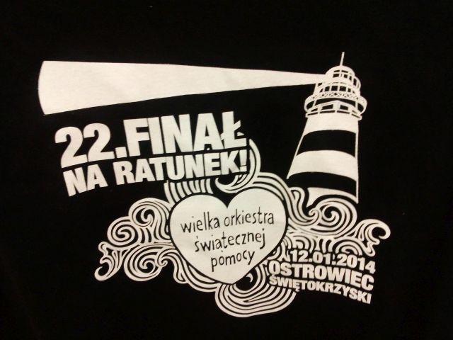 Koszulka WOŚP Ostrowiec Św. Czarna XXL #1