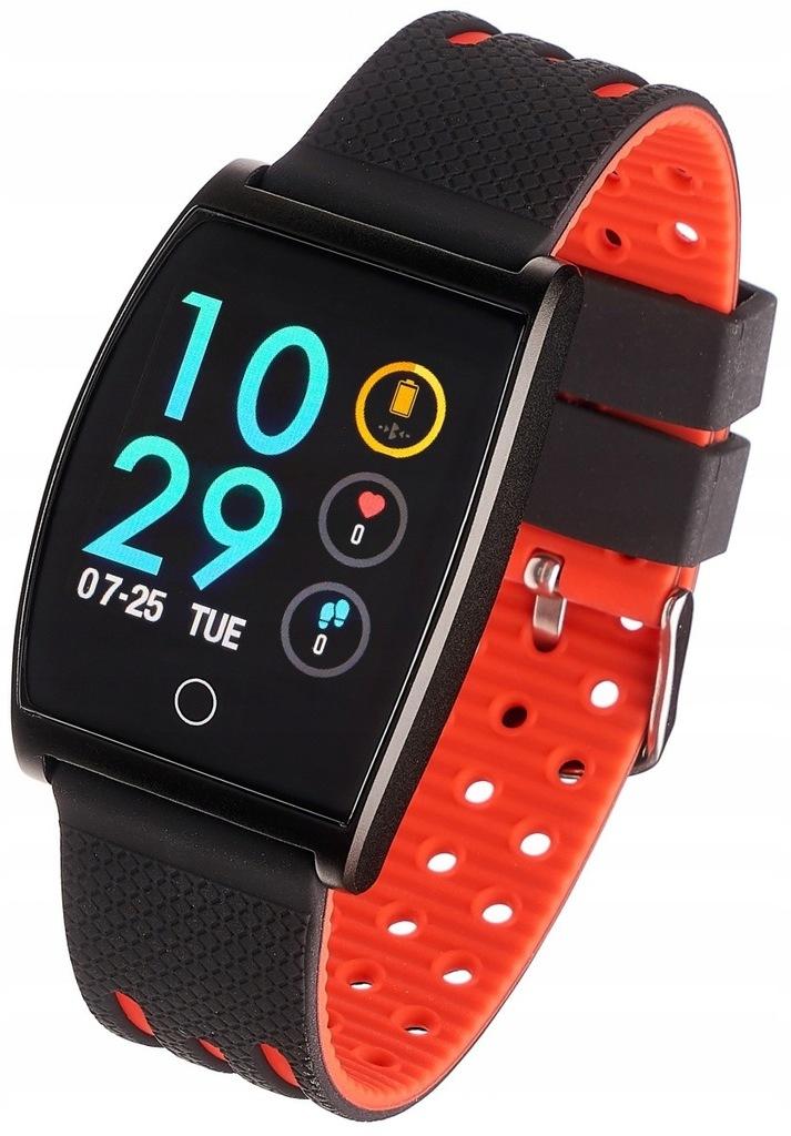 GARETT ELECTRONICS Smartwatch Sport 22 czerwony