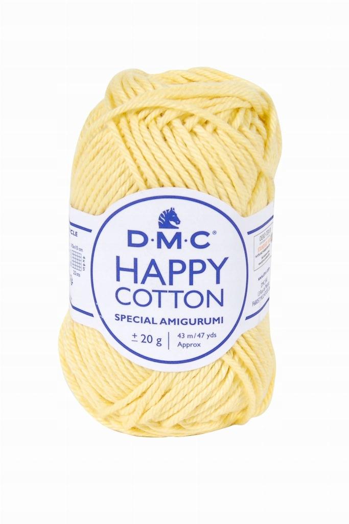 Włóczka DMC Happy Cotton 787 / żółty
