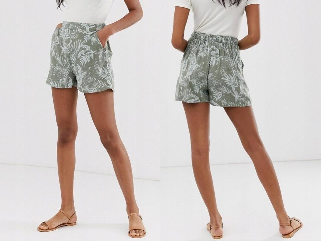 New Look - szorty z tropikalnym wzorem 44/XXL