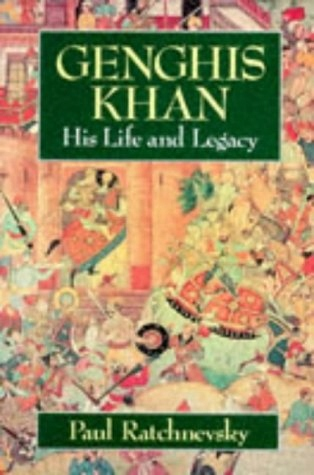 Paul Ratchnevsky - Genghis Khan His Life and Legac