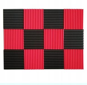 12 sztuk panele akustyczne izolacja pianki 1X12X12