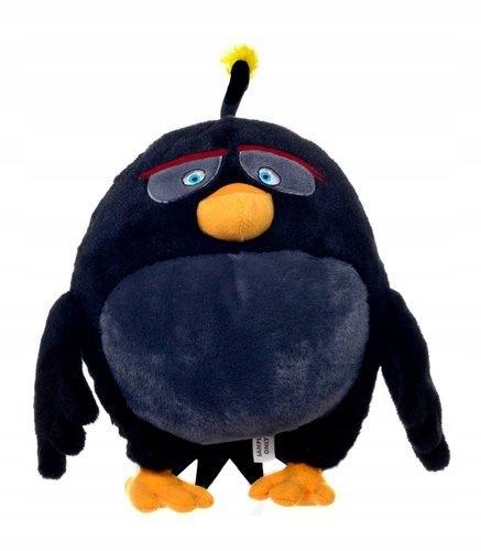 Maskotka Pluszak Angry Birds Ptak Bomba 28 Cm 9810600671 Oficjalne Archiwum Allegro