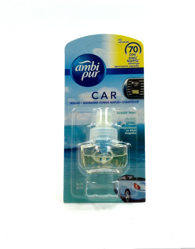 AMBI PUR CAR ZAPACH SAMOCHODOWY OCEAN MIST wkład