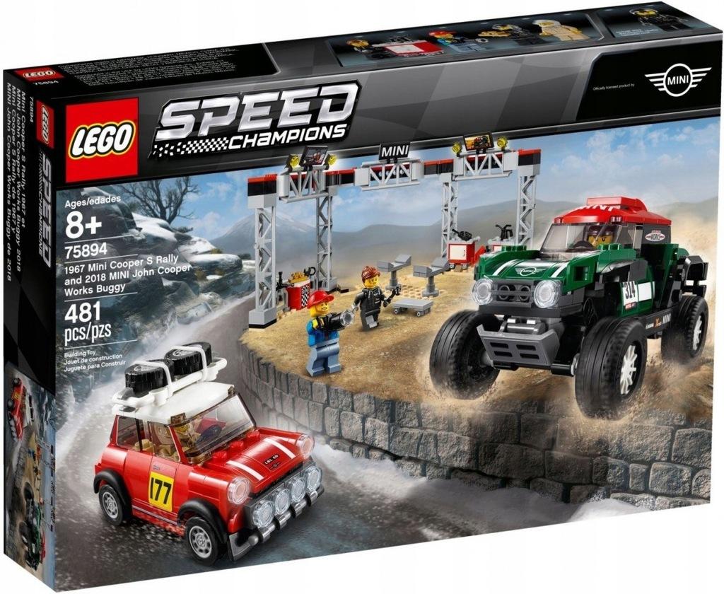 Klocki Speed Champions 196 7 Mini Cooper S Rally o
