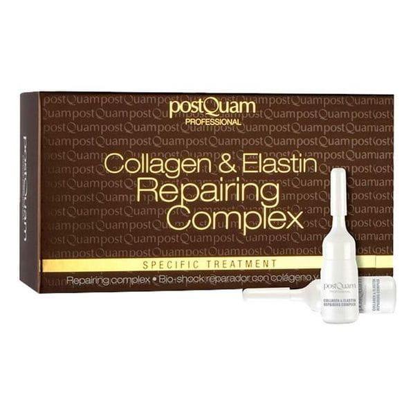 Serum do twarzy z kolagenem i elastyną ampułki