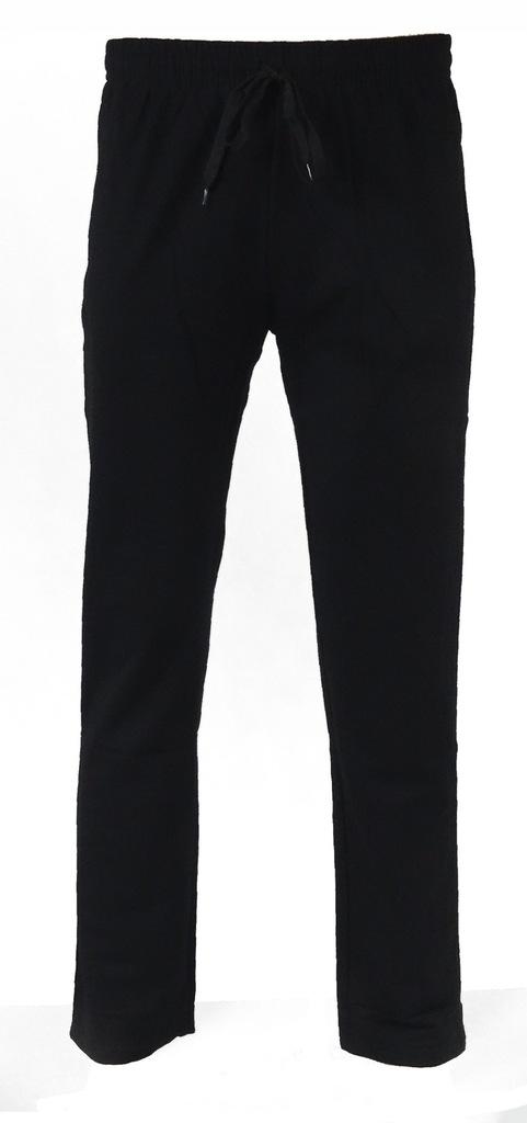 Spodnie męskie dresowe N-FEEL MF-0219 r.L czarne