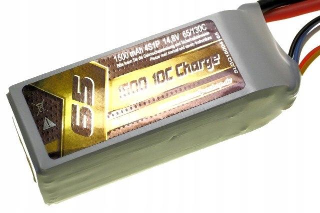 AKUMULATOR LiPo 1500mAh 14.8V 65/130C SLS Quantum