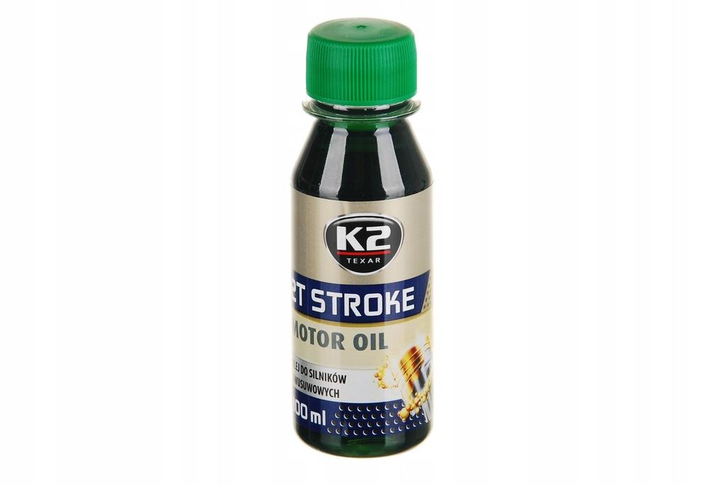 Olej 2T K2 Stroke 100ml zielony