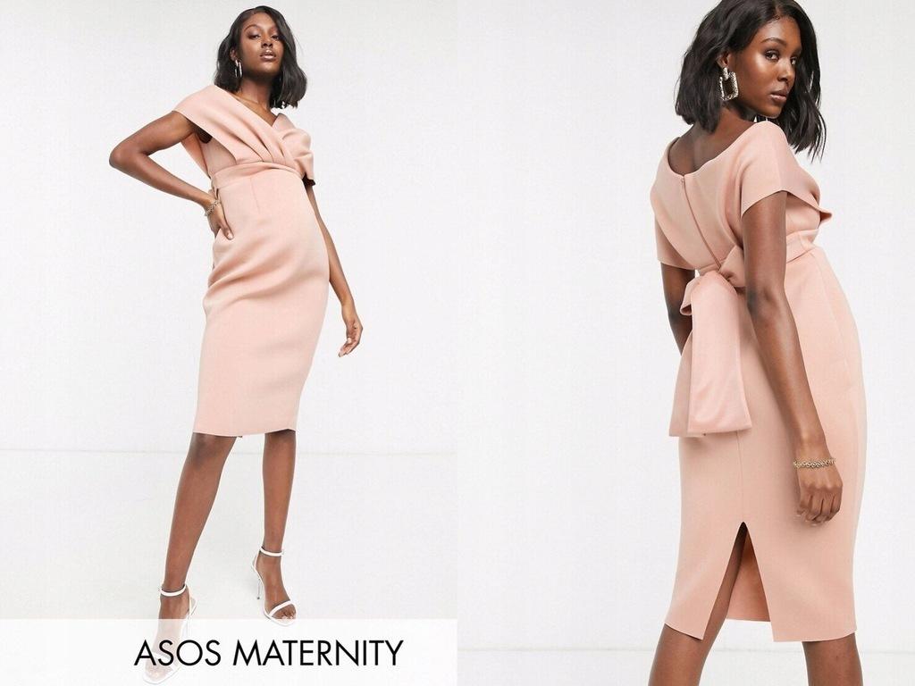 DESIGN Maternity Ołówkowa sukienka midi 46