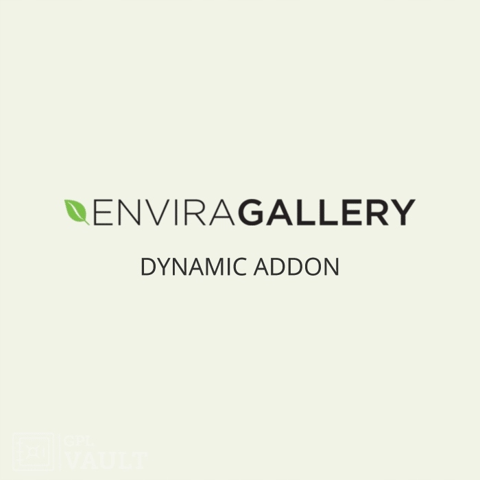 Wtyczka WordPress Envira Gallery Dynamic Add-On