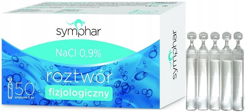SYMPHAR BABY sól fizjologiczna NaCl 0,9% 50 x 5ml