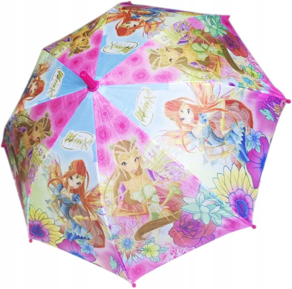 Parasol dla dziewczynki Parasolka Wróżki WINX