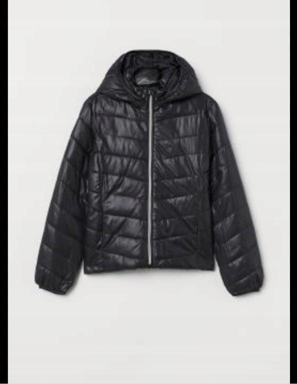 kurtka pikowana przejściowa jesienna h&m 134