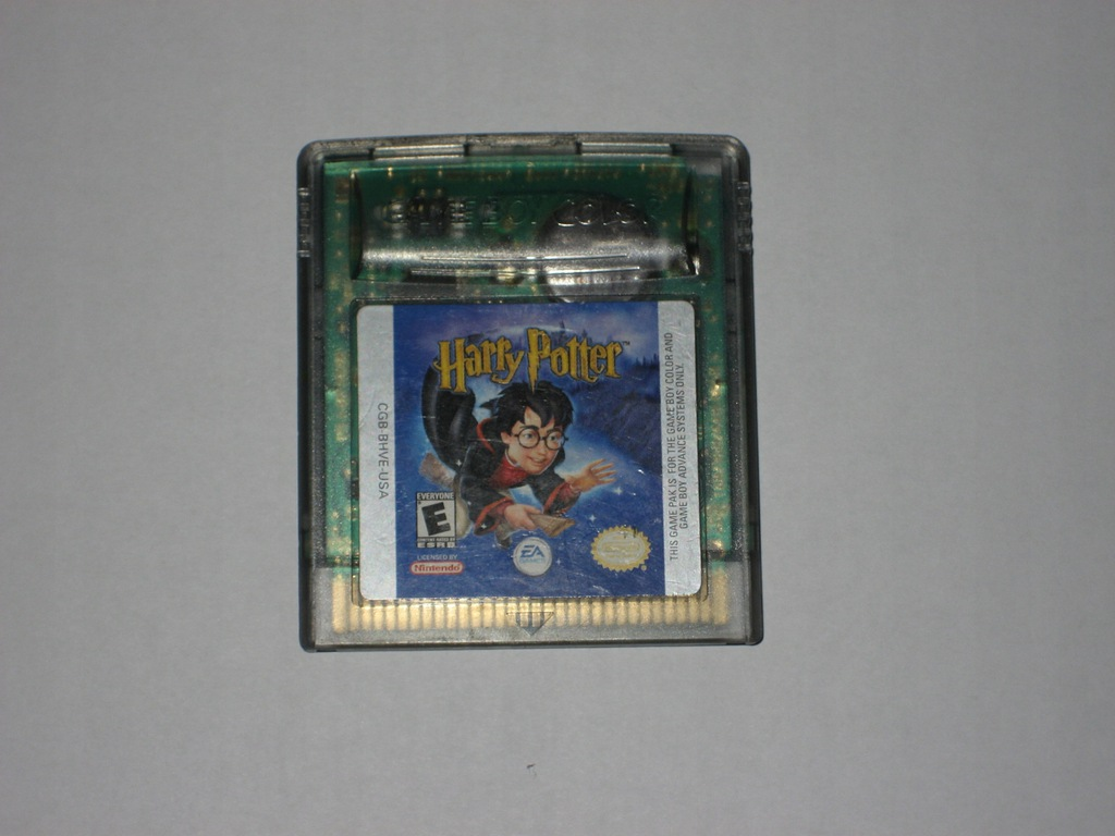 Nintendo GameBoy Color-Harry Potter