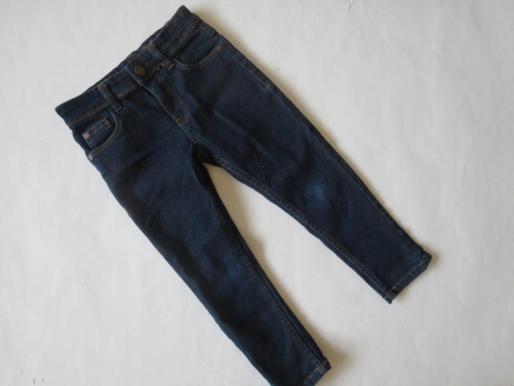NEXT - Super jeansowe Skinny - 104 cm, 4 lata