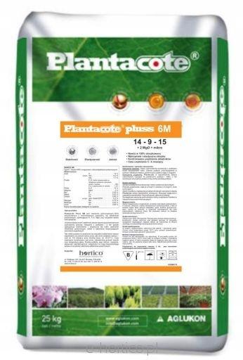 PLANTACOTE PLUSS 14-09-15 6 M 25 kg OTOCZKOWANY