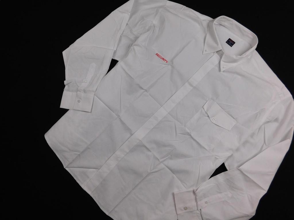 0901d81 TESCO koszula BIAŁA prosta ELEGANCKA 46 8843084272