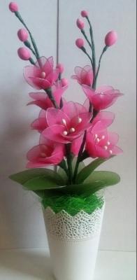 Kwiaty Z Rajstop Rekodzielo 8040396753 Oficjalne Archiwum Allegro