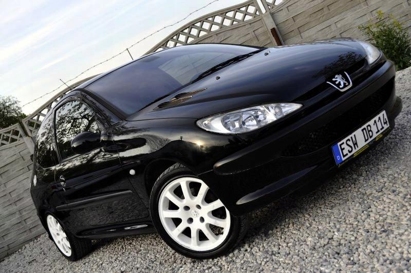 Peugeot 206 S16 Gti 2 0 136km Skora Alu 17 8119935172 Oficjalne Archiwum Allegro
