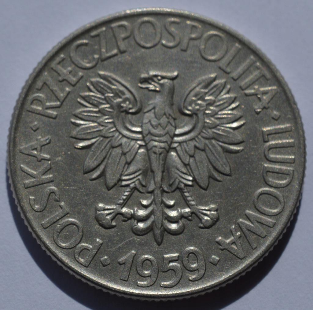 zł 10 1959r Tadeusz Kościuszko (1) MENNICZA