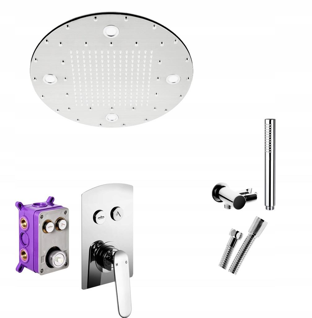 Zestaw prysznicowy PODTYNKOWY Corsan CMZ042 BOX M