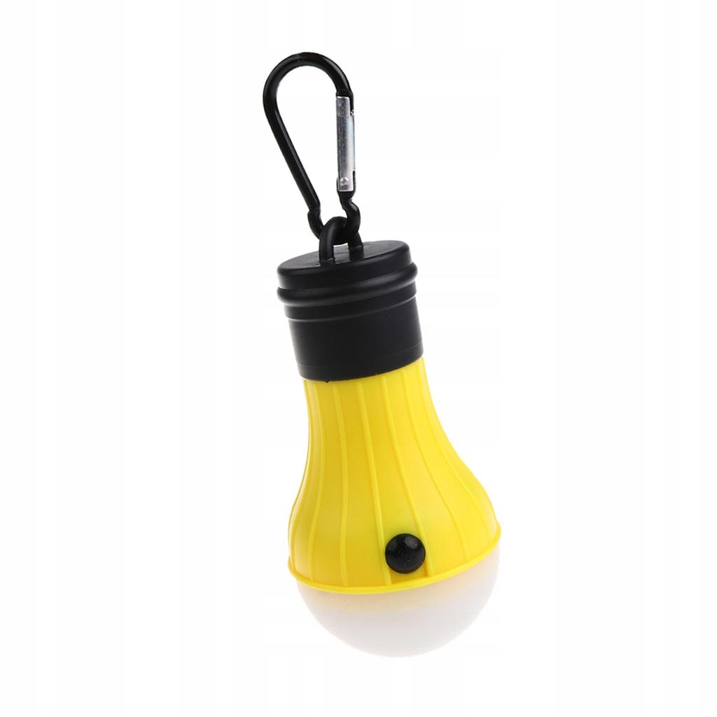 Lampa kempingowa latarnia - Żółty