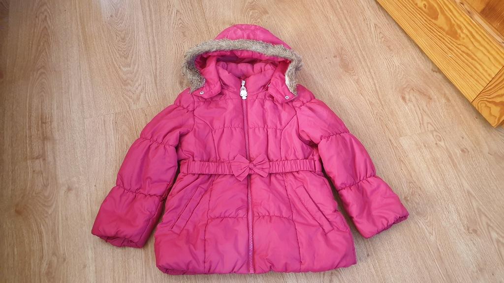 kurtka zimowa dla dziewczynki 116 hm