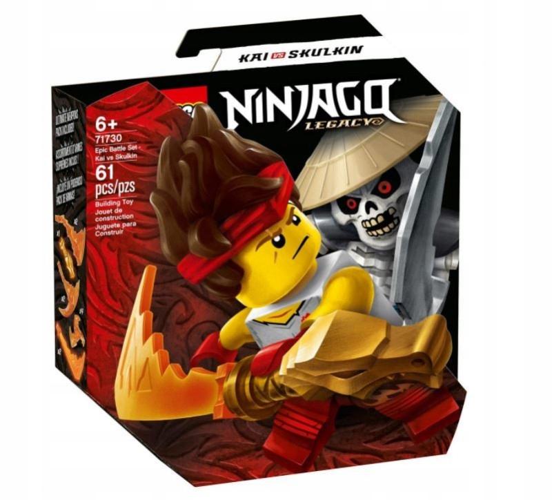 Klocki Ninjago Epicki zestaw bojowy Kai Szkielet