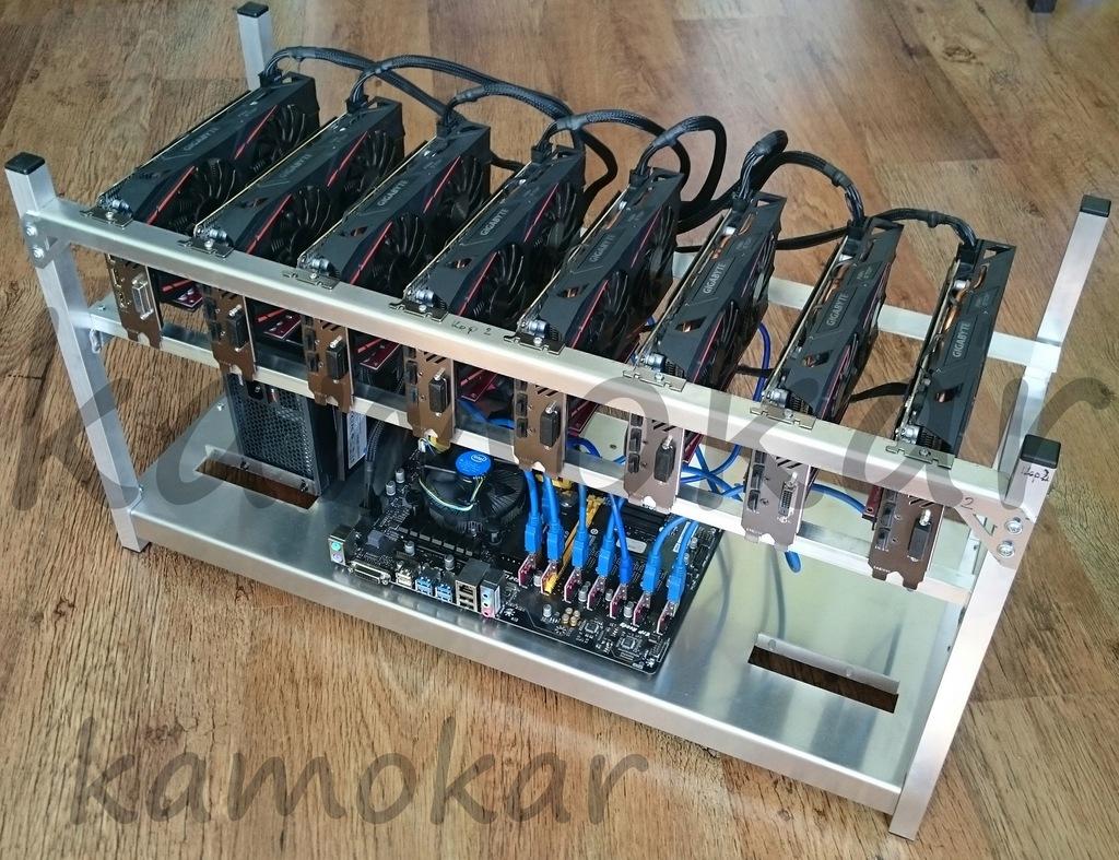 Nowa koparka kryptowalut 8x GeForce RTX 2060 6GB