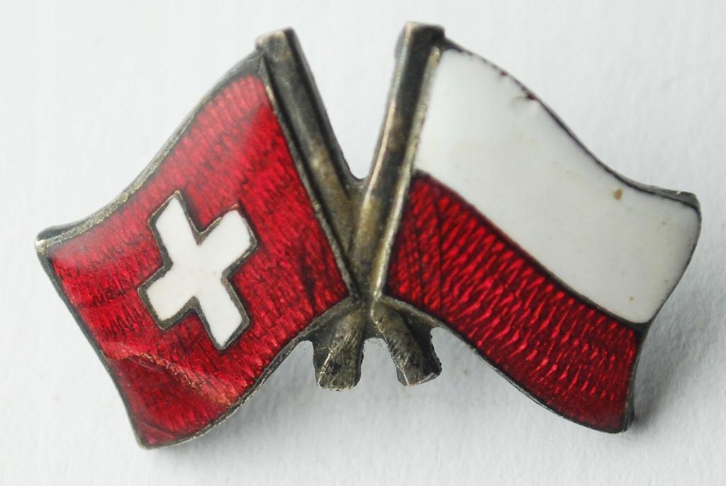 Odznaka Wpinka Emaliowana Polska Szwajcaria