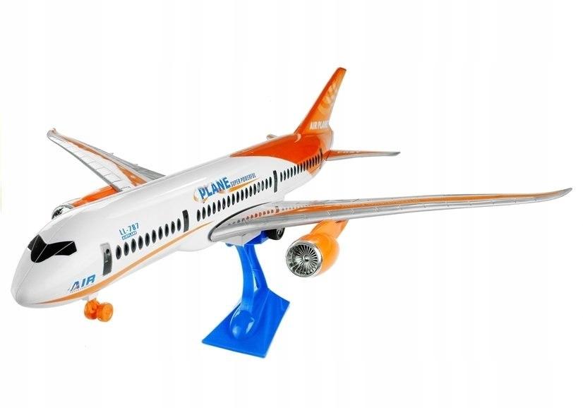 Duży Samolot Pasażerski z Napędem Friction