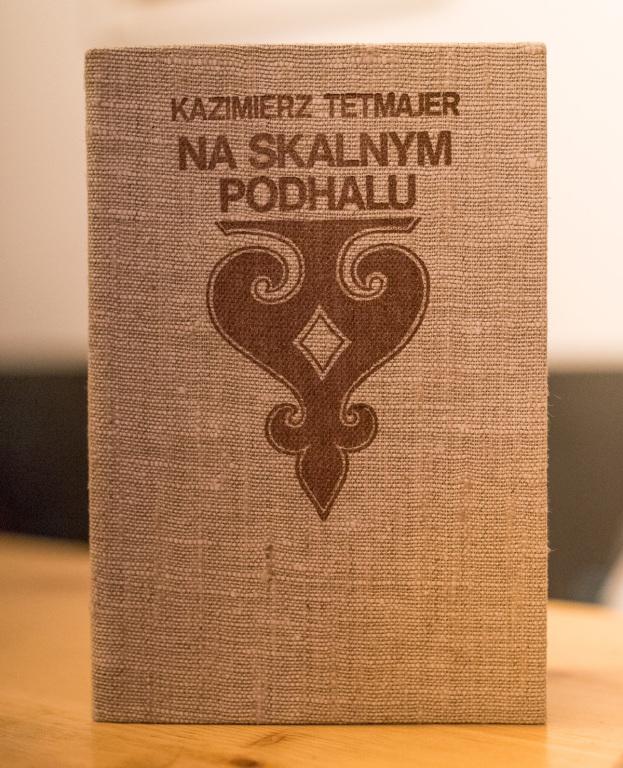 Kazimierz Tetmajer Na skalnym Podhalu książka bdb