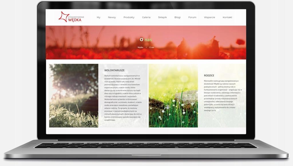 ELEGANCKA STRONA INTERNETOWA WWW RWD+SEO+CMS