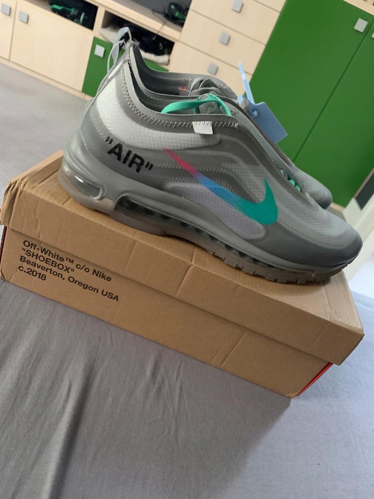 nike air max 97 shoesbox