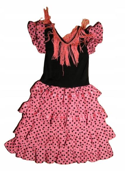 Tancerka Flamenco Hiszpanka biedronka 116