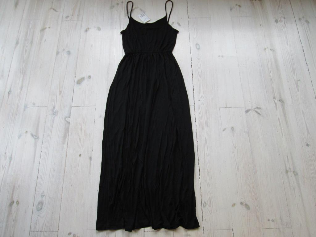 SUKIENKA H&M by Madonna mała czarna suknia wieczorowa