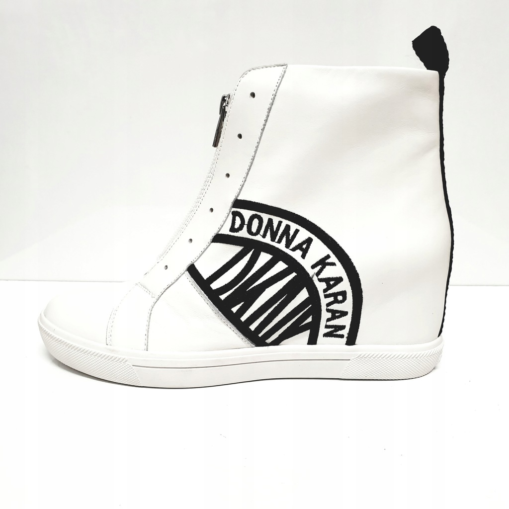 Buty Damskie Dkny 38 5 Sneakersy Na Koturnie 7997364729 Oficjalne Archiwum Allegro