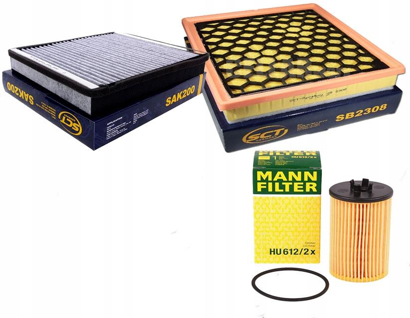 Zestaw filtrów Insignia 1,4 1,6
